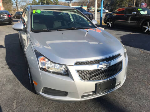 2014 Chevrolet Cruze for sale at Dad's Auto Sales in Newport News VA