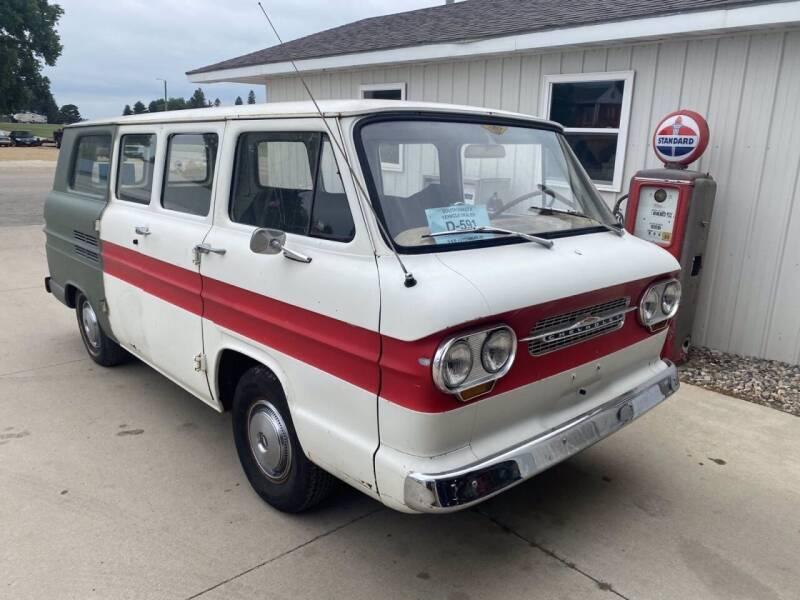 1963 Chevrolet Corvair Van for sale at B & B Auto Sales in Brookings SD