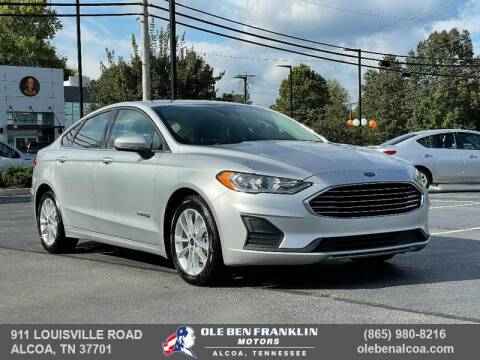 2019 Ford Fusion Hybrid for sale at Ole Ben Franklin Motors Clinton Highway in Knoxville TN