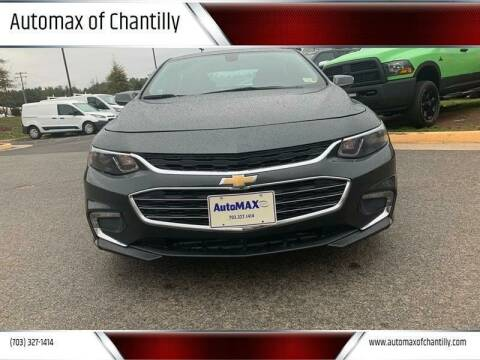 2017 Chevrolet Malibu for sale at Automax of Chantilly in Chantilly VA