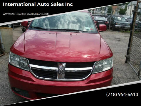 2009 Dodge Journey for sale at International Auto Sales Inc in Staten Island NY