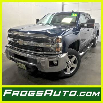 2016 Chevrolet Silverado 2500HD for sale at Frogs Auto Sales in Clinton IA