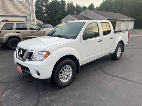 2018 Nissan Frontier for sale at Glen's Auto Sales in Fremont NH