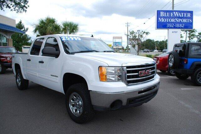 2013 GMC Sierra 1500 for sale at BlueWater MotorSports in Wilmington NC