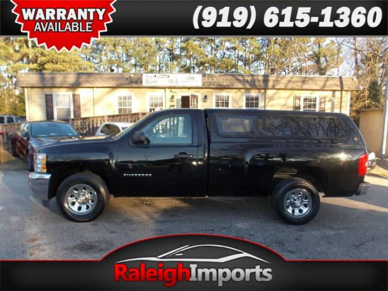 2013 Chevrolet Silverado 1500 for sale at Raleigh Imports in Raleigh NC