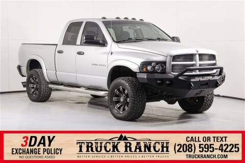 2005 Dodge Ram Pickup 3500 for sale at Truck Ranch in Twin Falls ID