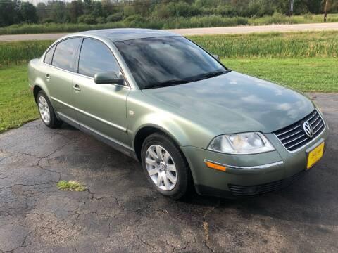 2002 Volkswagen Passat for sale at Sunshine Auto Sales in Menasha WI