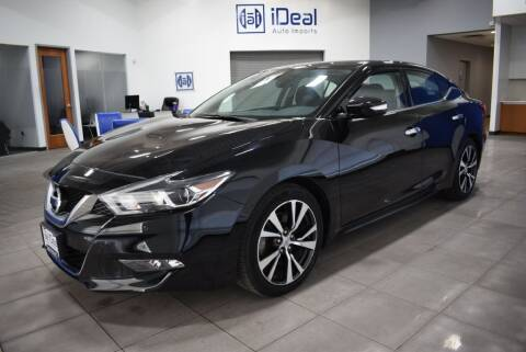 2017 Nissan Maxima for sale at iDeal Auto Imports in Eden Prairie MN
