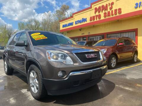 2011 GMC Acadia for sale at Popas Auto Sales in Detroit MI