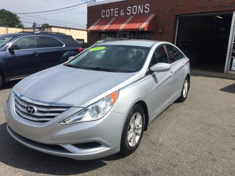 2011 Hyundai Sonata for sale at Cote & Sons Automotive Ctr in Lawrence MA