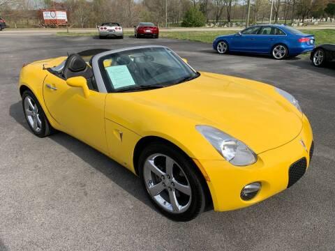 2009 Pontiac Solstice for sale at Hillside Motors in Jamestown KY