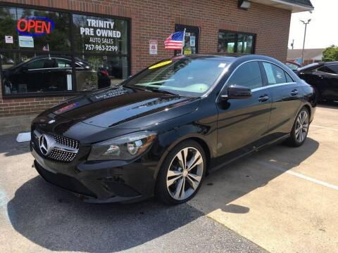 2016 Mercedes-Benz CLA for sale at Bankruptcy Car Financing in Norfolk VA