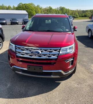 2019 Ford Explorer for sale at Gilliam Motors Inc in Dillwyn VA