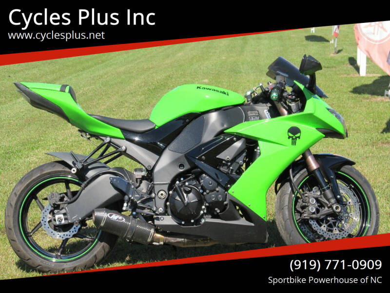 2008 Kawasaki Ninja ZX-10R for sale at Cycles Plus Inc in Garner NC