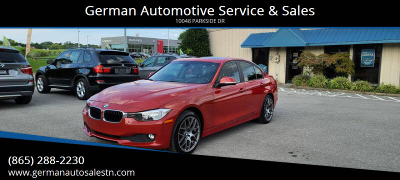 2015 BMW 3 Series for sale at German Automotive Service & Sales in Knoxville TN