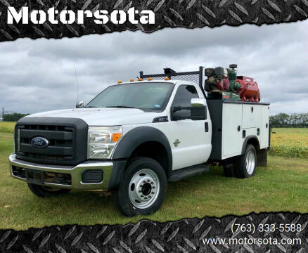 2014 Ford F-450 Super Duty for sale at Motorsota in Becker MN