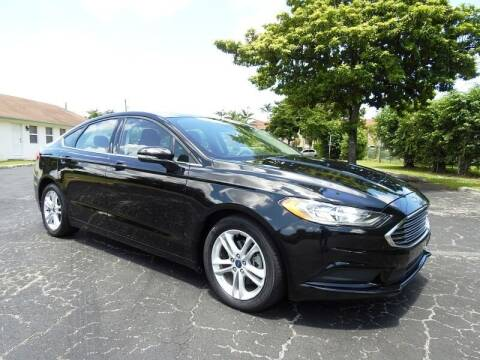 2018 Ford Fusion for sale at SUPER DEAL MOTORS 441 in Hollywood FL