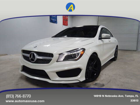 2015 Mercedes-Benz CLA for sale at Automaxx in Tampa FL
