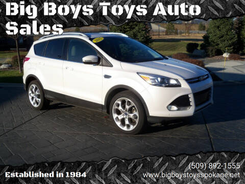 2015 Ford Escape for sale at Big Boys Toys Auto Sales in Spokane Valley WA
