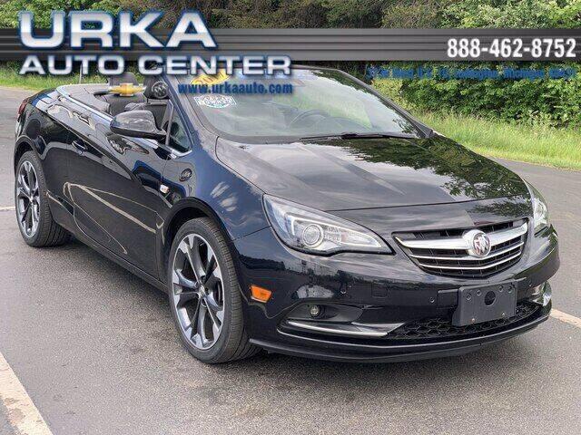 2017 Buick Cascada for sale at Urka Auto Center in Ludington MI