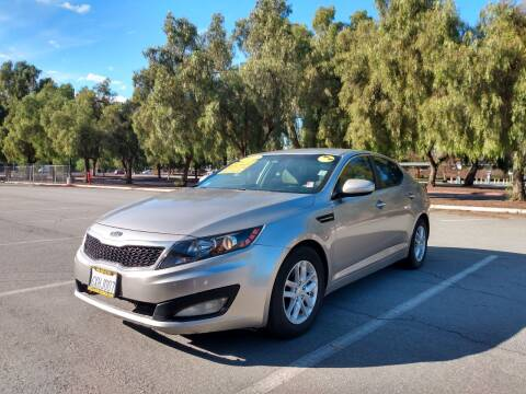 2012 Kia Optima for sale at ALL CREDIT AUTO SALES in San Jose CA