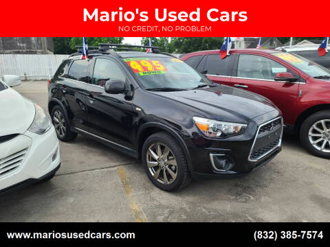 2013 Mitsubishi Outlander Sport for sale at Mario's Used Cars - South Houston Location in South Houston TX