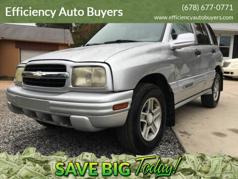 2004 Chevrolet Tracker for sale at Efficiency Auto Buyers in Milton GA
