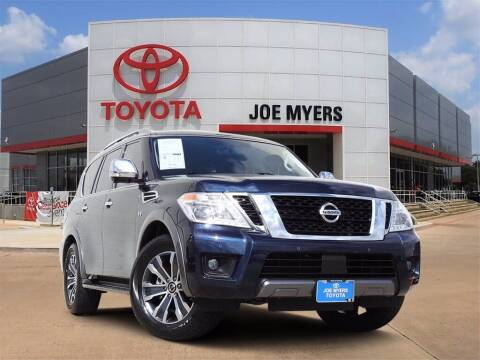 2019 Nissan Armada for sale at Joe Myers Toyota PreOwned in Houston TX