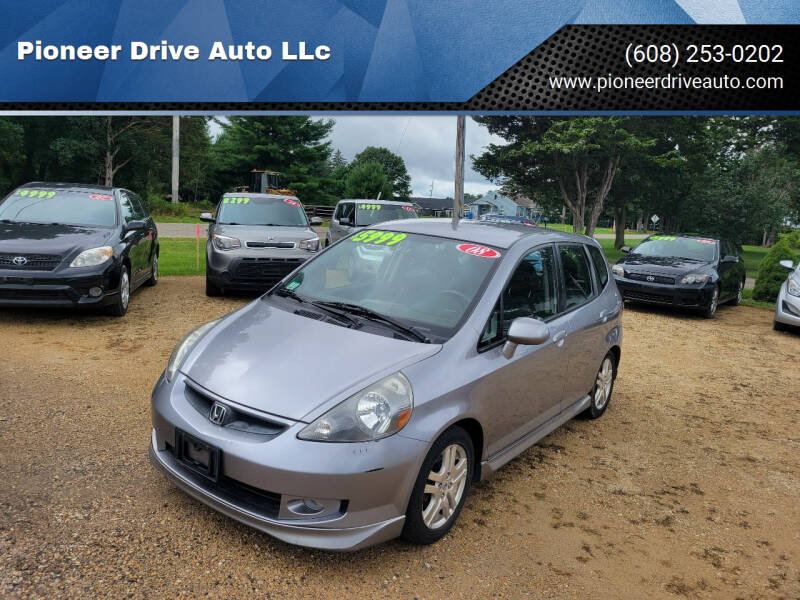 2008 Honda Fit for sale at Pioneer Drive Auto LLc in Wisconsin Dells WI