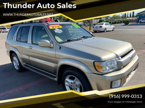 2003 Infiniti QX4 for sale at Thunder Auto Sales in Sacramento CA