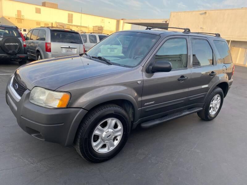 2002 Ford Escape for sale at PRICE TIME AUTO SALES in Sacramento CA