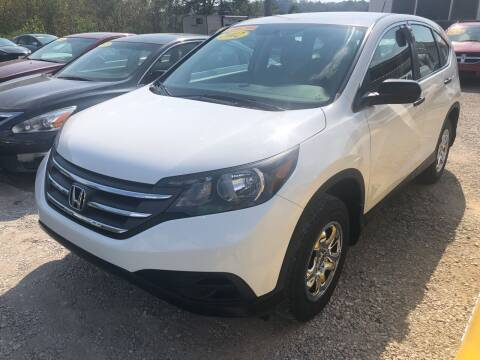 2012 Honda CR-V for sale at PIONEER USED AUTOS & RV SALES in Lavalette WV