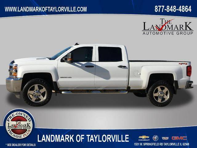 2019 Chevrolet Silverado 2500HD for sale at LANDMARK OF TAYLORVILLE in Taylorville IL