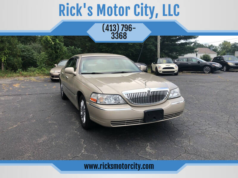 2009 Lincoln Town Car for sale at Rick's Motor City, LLC in Springfield MA
