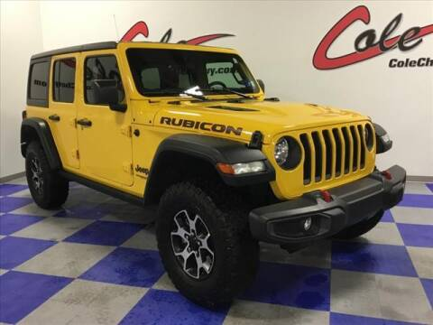 2020 Jeep Wrangler Unlimited for sale at Cole Chevy Pre-Owned in Bluefield WV