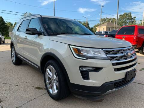 2018 Ford Explorer for sale at Auto Gallery LLC in Burlington WI
