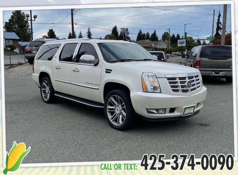 2007 Cadillac Escalade ESV for sale at Corn Motors in Everett WA