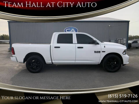 2017 RAM Ram Pickup 1500 for sale at Team Hall at City Auto in Murfreesboro TN