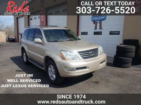 2008 Lexus GX 470 for sale at Red's Auto and Truck in Longmont CO