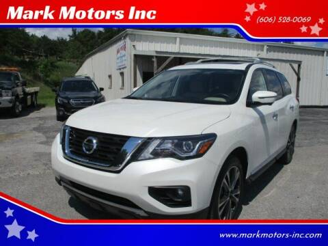 2019 Nissan Pathfinder for sale at Mark Motors Inc in Gray KY