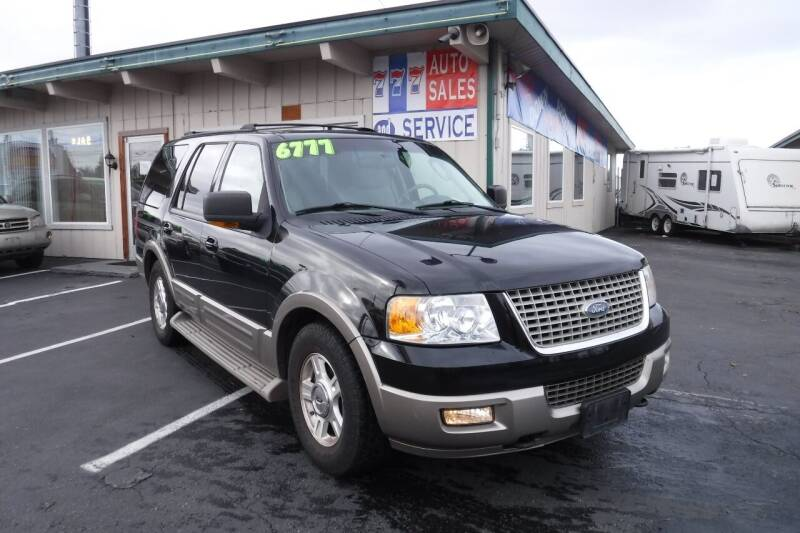 2004 Ford Expedition for sale at 777 Auto Sales and Service in Tacoma WA