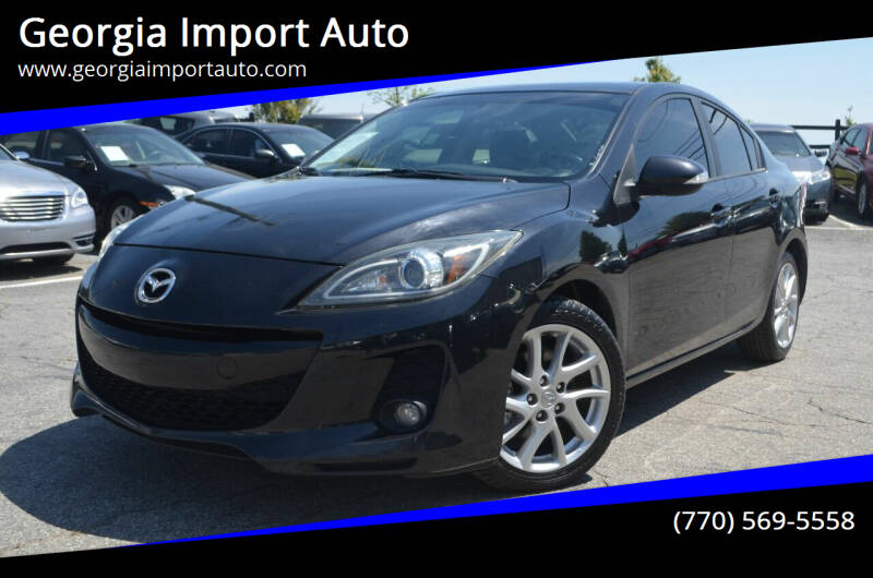 2012 Mazda MAZDA3 for sale at Georgia Import Auto in Alpharetta GA