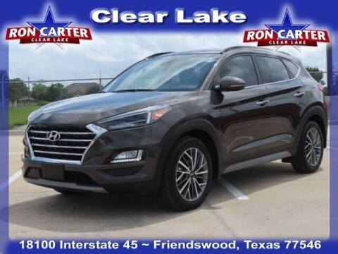 2020 Hyundai Tucson for sale at Ron Carter  Clear Lake Used Cars in Houston TX