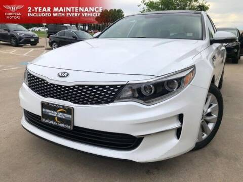 2016 Kia Optima for sale at European Motors Inc in Plano TX