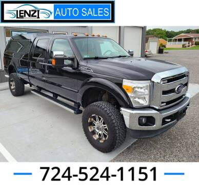 2011 Ford F-250 Super Duty for sale at LENZI AUTO SALES in Sarver PA