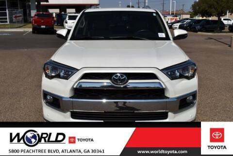 2016 Toyota 4Runner for sale at CU Carfinders in Norcross GA