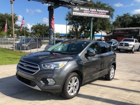2017 Ford Escape for sale at Prime Auto Solutions in Orlando FL