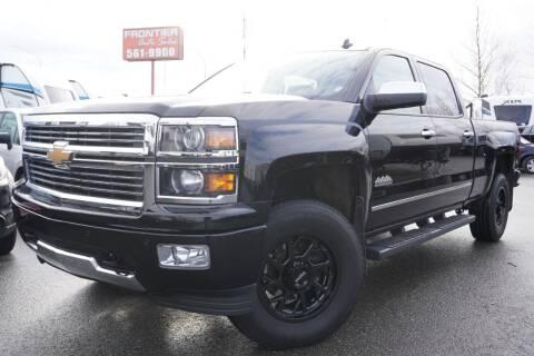 2014 Chevrolet Silverado 1500 for sale at Frontier Auto & RV Sales in Anchorage AK