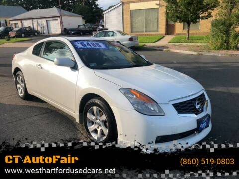 2009 Nissan Altima for sale at CT AutoFair in West Hartford CT