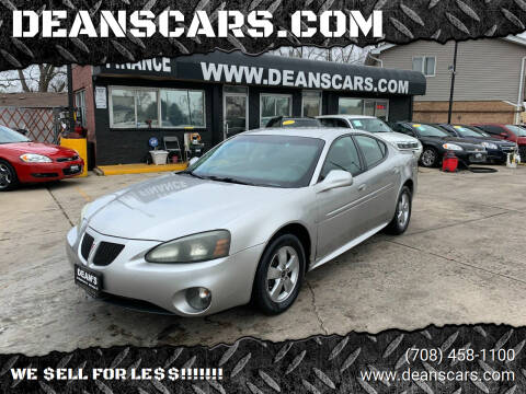 2006 Pontiac Grand Prix for sale at DEANSCARS.COM in Bridgeview IL